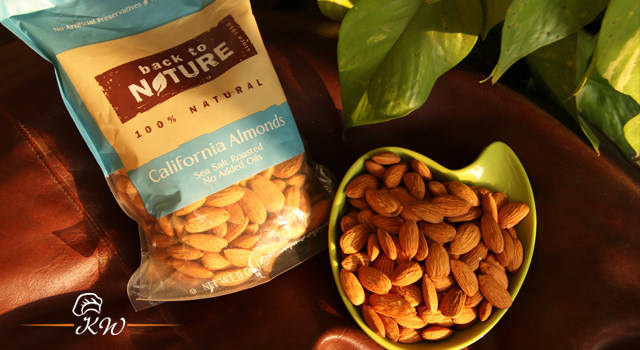 KhaanaWaana Review: Back to Nature Sea Salt Roasted California Almonds