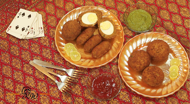 KhaanaWaana Nargis, Shaami Kebab and Kheema Pattice Recipes