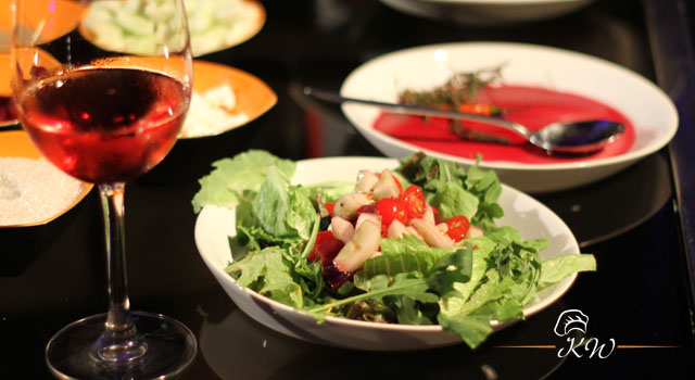 KhaanaWaana: Red Wine Salad Dressing by Chef Michael Swamy