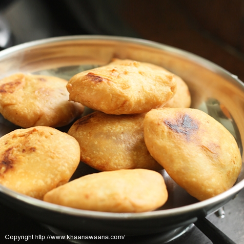 Fried Potato Puffs (Aloo Kachori)