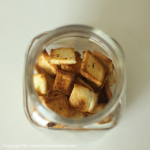 How to Make Bread Croutons