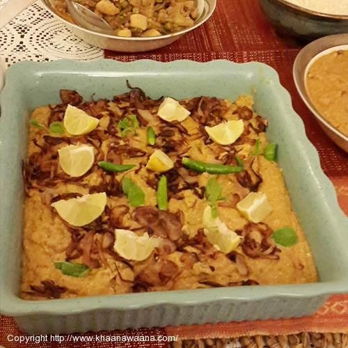 Minced Lamb with Broken Wheat - Hyderabadi Style (Haleem Hyderabadi)