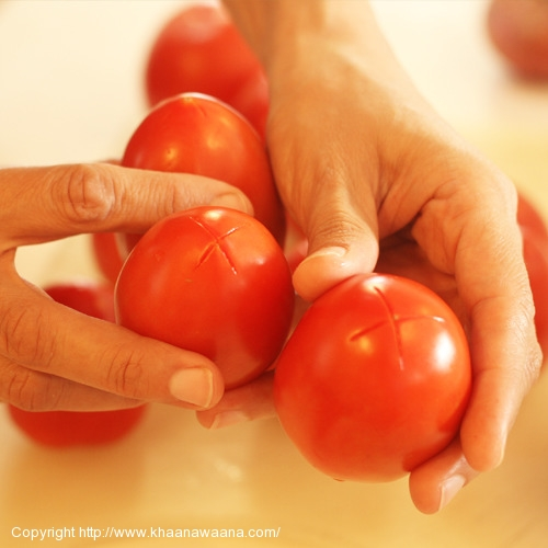 How to Blanch and Skin Tomatoes