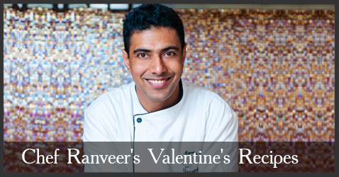 Chef Ranveer Brar's Warm Shrimp Tart and Beetroot Lasagna recipes
