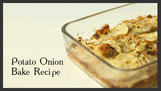 Potato Onion Bake Recipe