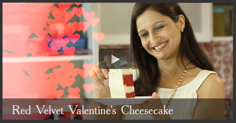 Red Velvet Valentine's Cheesecake